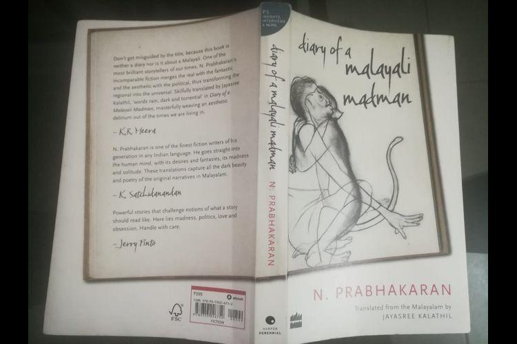 N Prabhakaran author of Diary of a Malayali Madman opens up on his inspirations