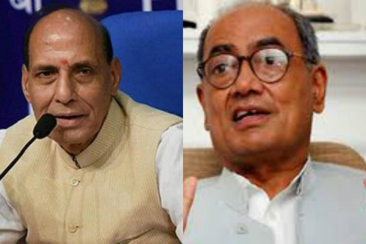 Digvijaya slams Rajnath for meeting Malegaon blast accused