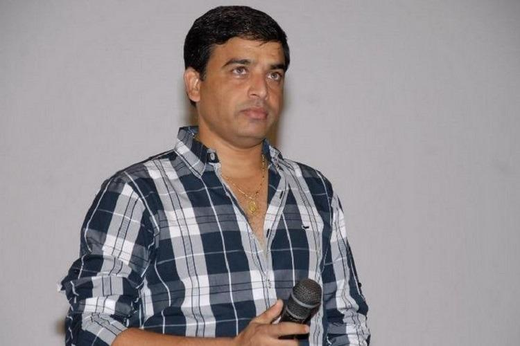 Tollywood producer Dil Raju at an event