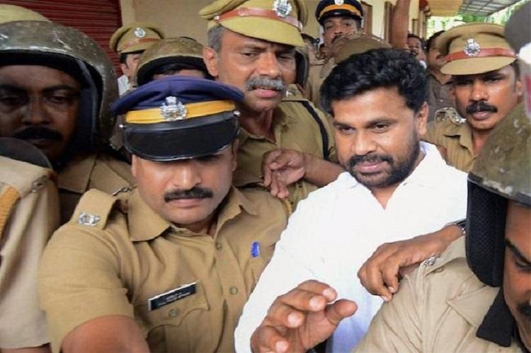 Dileep comes out of jail briefly to perform fathers rites on death anniversary