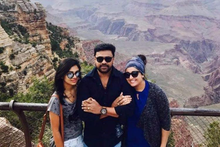 55 days after he was arrested wife Kavya daughter Meenakshi visit Dileep in jail