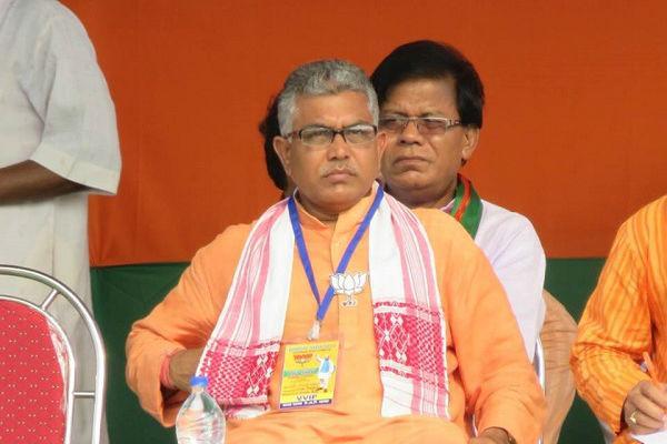 Jadavpur University girl students shameless below standard Bengal BJP President