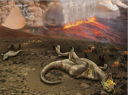 Volcanic eruptions in India and asteroids wiped out dinosaurssays Jurassic study