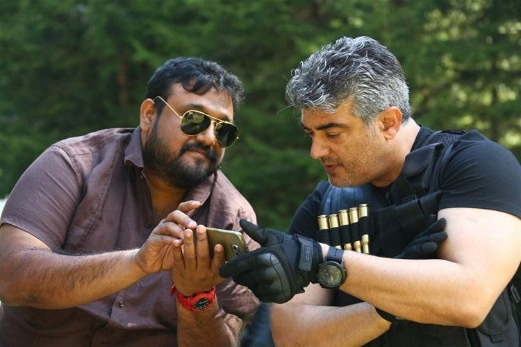 Ajith leaves for Hyderabad to join Viswasam shoot
