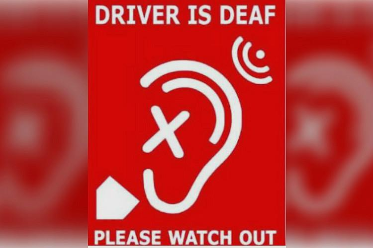 Telangana first state to have logo for vehicles driven by persons with hearing impairment