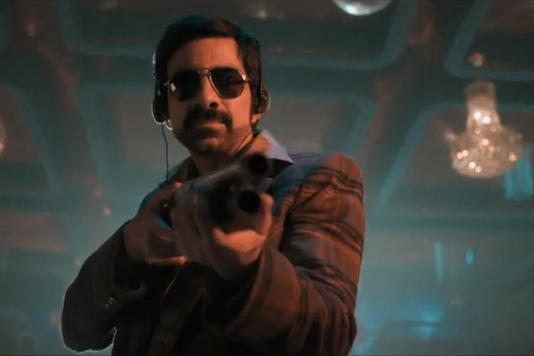 Disco Raja review Ravi Tejas science-fiction-based gangster drama is a bad parody