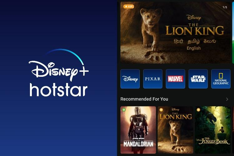 DisneyHotstar app screenshots