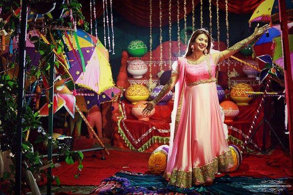 In pictures Bride-to-be Divyanka Tripathi looks drop dead gorgeous at pre-wedding ceremonies