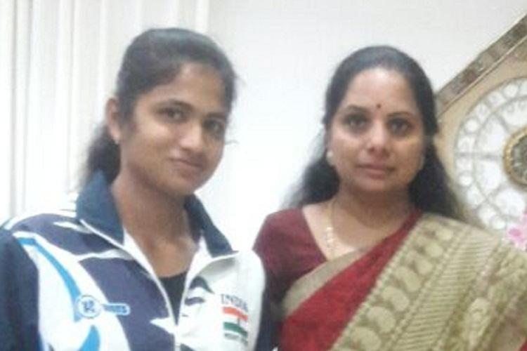 Telangana weightlifter gets a shot at world event in Mexico thanks to MP Kavithas help