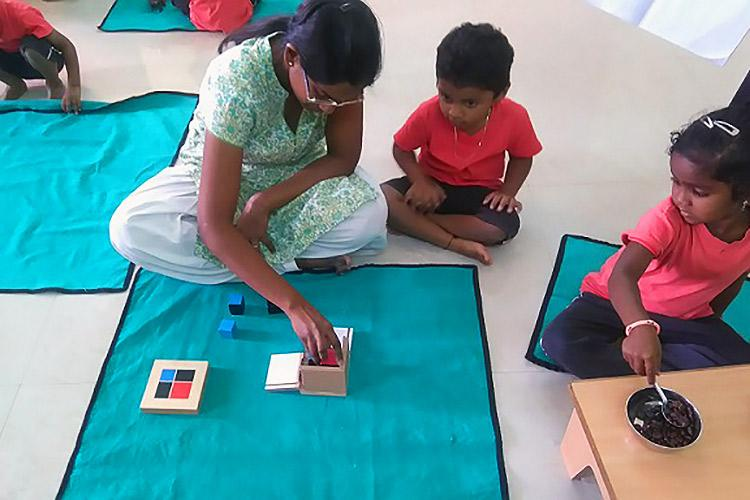 Building new futures A Bengaluru couple started a school just for construction workers kids