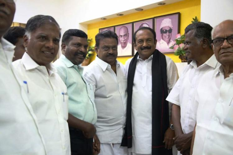 Vijayakanths DMDK finally chooses sides joins hands with PWF alliance