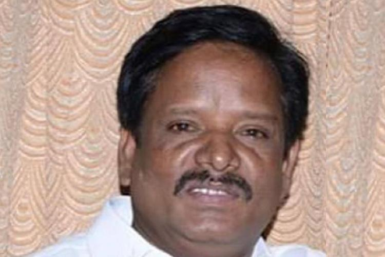 Former DMK MLA Rajkumar who has been acquitted of rape and murder of a 12-year-old girl