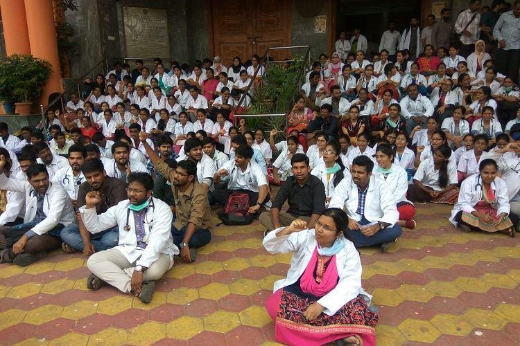 Telangana docs protest over KTRs plan to certify registered pvt medical practitioners