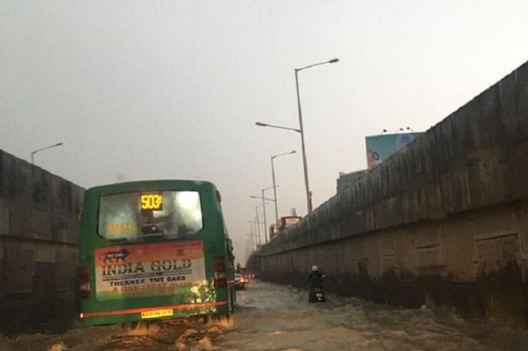 A no-mans land in the middle of Bluru This stretch of ORR lacks streetlights signages drains