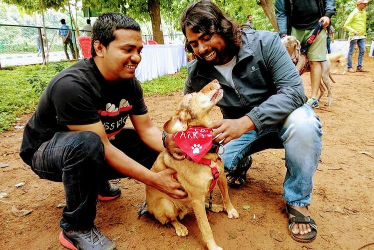 Bluru dog lovers unite to protest in Cubbon Park against BBMPs new dog licensing rule