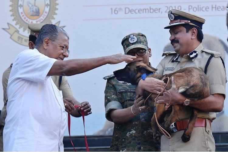 20 New Puppies Join Kerala Police Dog Squad 12 Senior Dogs Retire