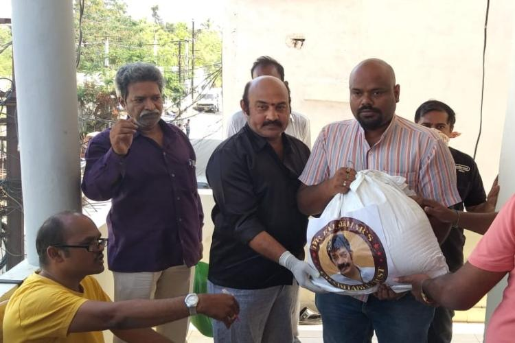 Film fraternity comes forward to help daily wage workers in Tollywood