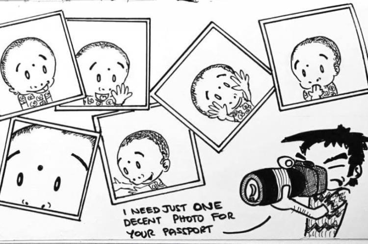 Mirth mischief love TN designers doodles of daughters antics will win your heart
