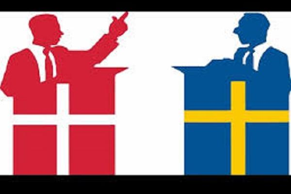 Uh oh Did we just witness the first world Twitter war between Denmark and Sweden