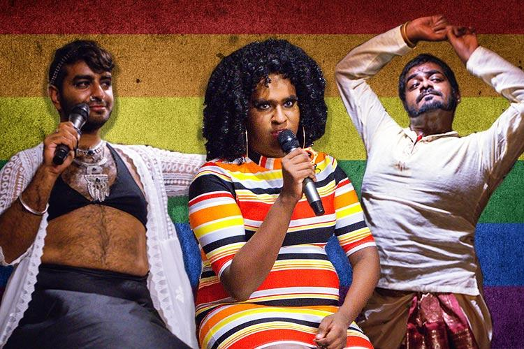 Dont be a drag just be a queen Chennais first exclusive drag show was ruthlessly funny