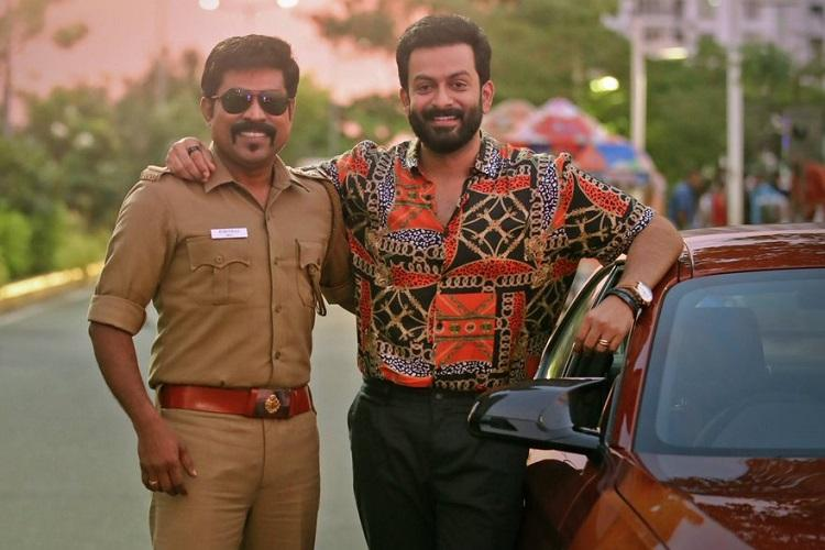 Driving License review Prithviraj and Suraj play the star-fan roles admirably well