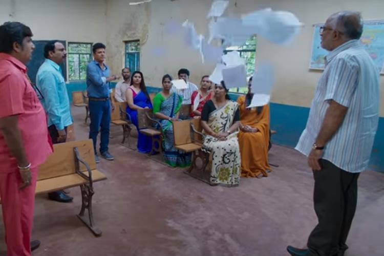 Drona review Shiva Rajkumar film on educational reform is formulaic