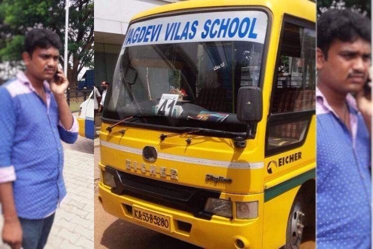 Yet another Bengaluru school bus driver held for drunken driving 22 childrens lives risked