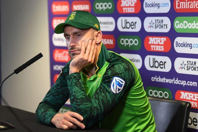 Its tough now guys are hurting Faf du Plessis says team gave it all vs New Zealand