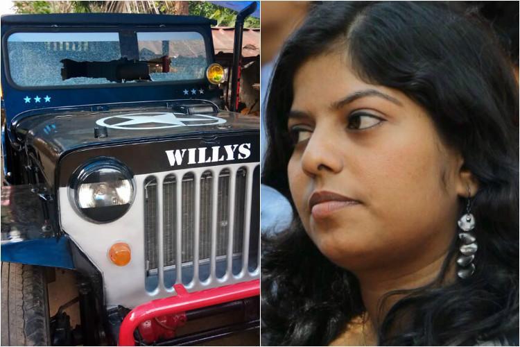 Kerala artists house stoned for drawings on Kathua crime