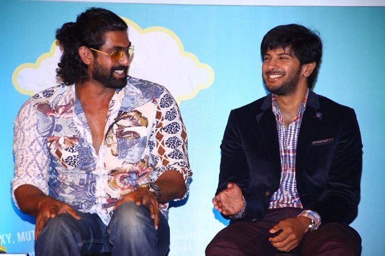 Dulquer Salmaan releases trailer of Rana Daggubatis new film