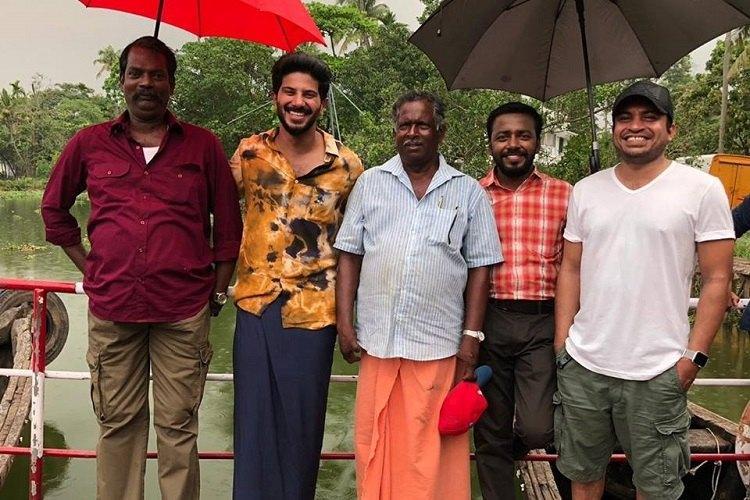 Dulquer Salmaan back on the sets of Oru Yamandan Premakadha