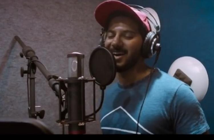 Actor Dulquer turns singer again Watch Dhrithangapulagithan from Kalyanam