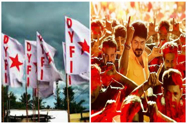 DYFI extends support to 'Mersal', says attack on movie shows