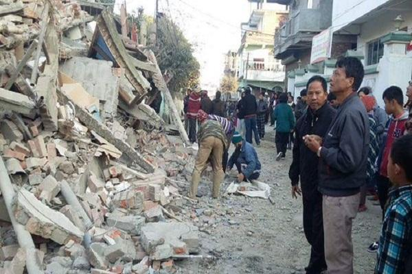 Earthquake and aftershocks hit north-east India several casualties reported
