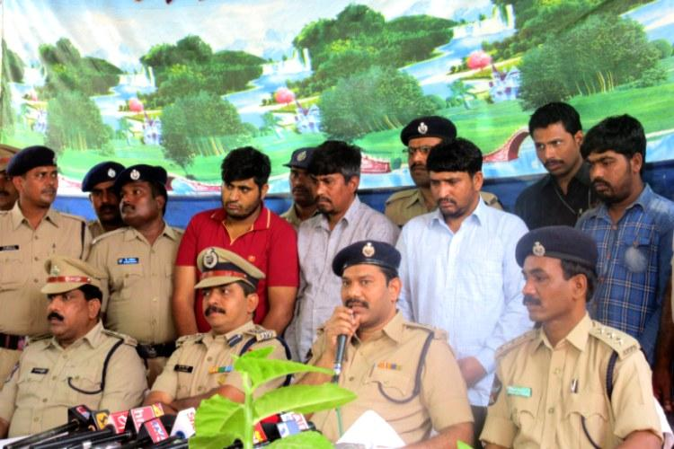 Vijayawada railway cops bust interstate gang of thieves recover loot worth Rs 60 lakh