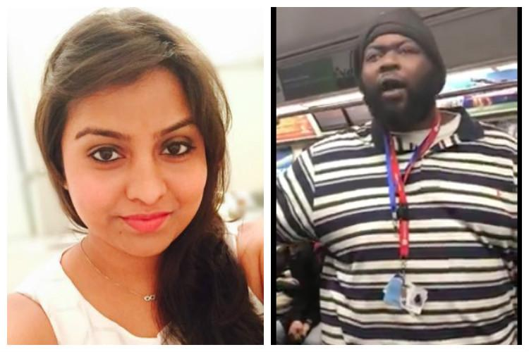 Video Indian-origin girl racially abused on train in New York