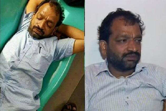 That image of man passed out in Kochi metro and ridiculed as drunk Heres the real story