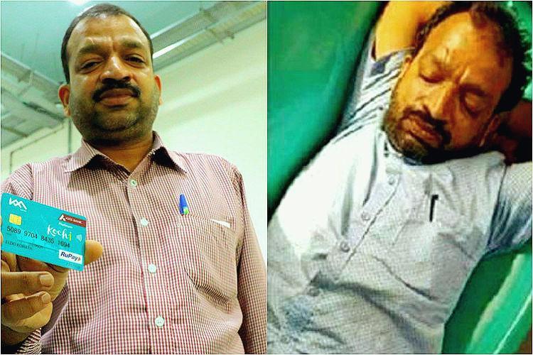 Remember drunk man on Kochi Metro whose image went viral KMRL rewards him wins hearts