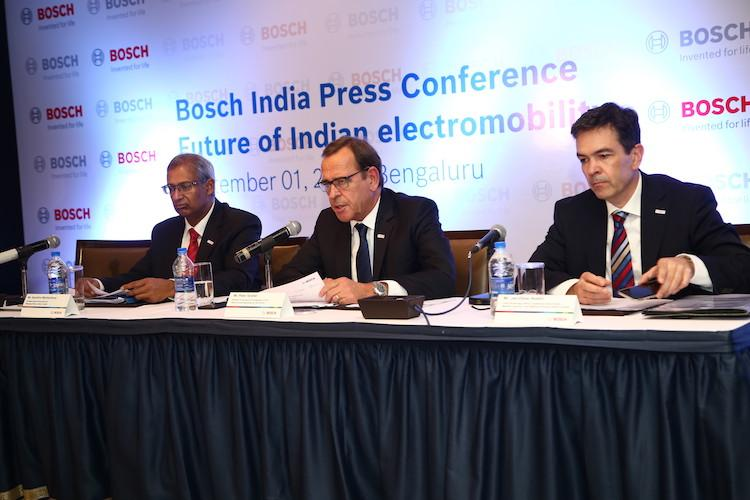 Bosch bets big on electromobility in India to move into series production after 2018