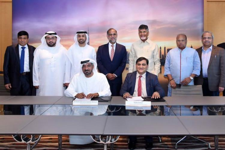 Andhra govt signs MoU with Emirates Group for investment of Rs 30000 crore