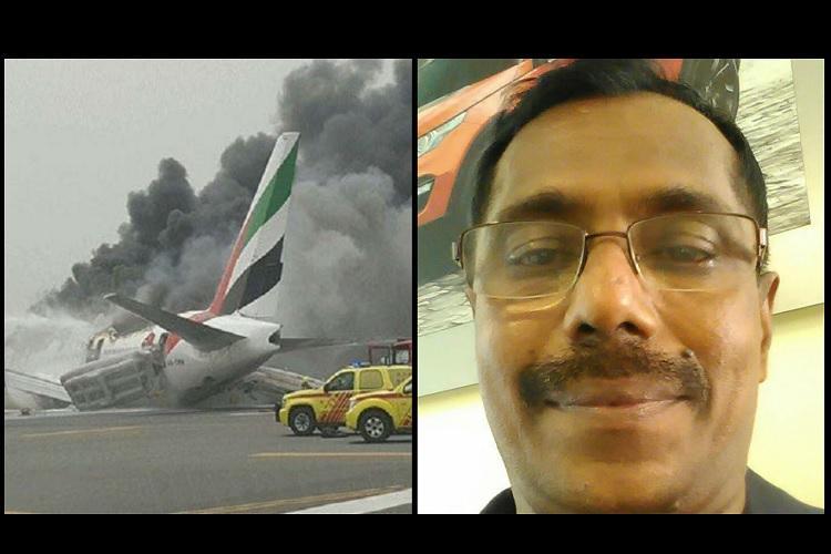The lucky Malayali man who survived Emirates crash-landing then won a million-dollar lottery