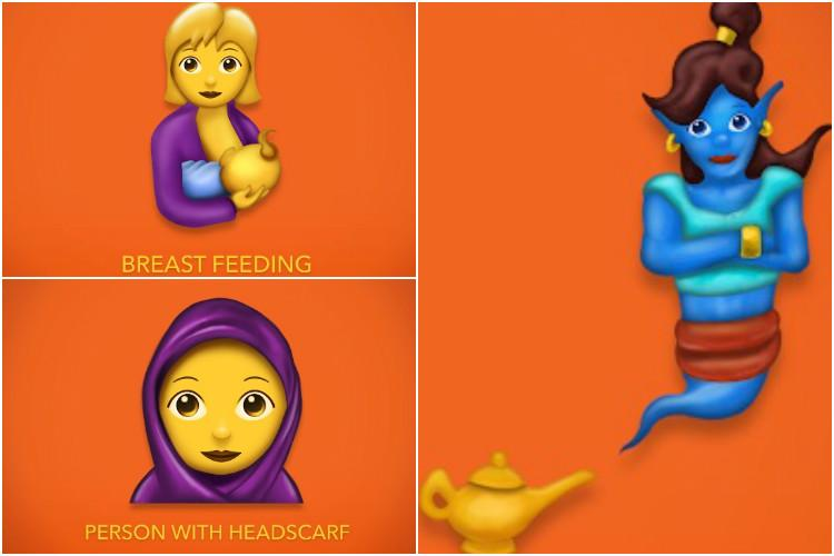 Hijab breastfeeding fantasy figures The Emoji 50 update is fun inclusive and culturally relevant