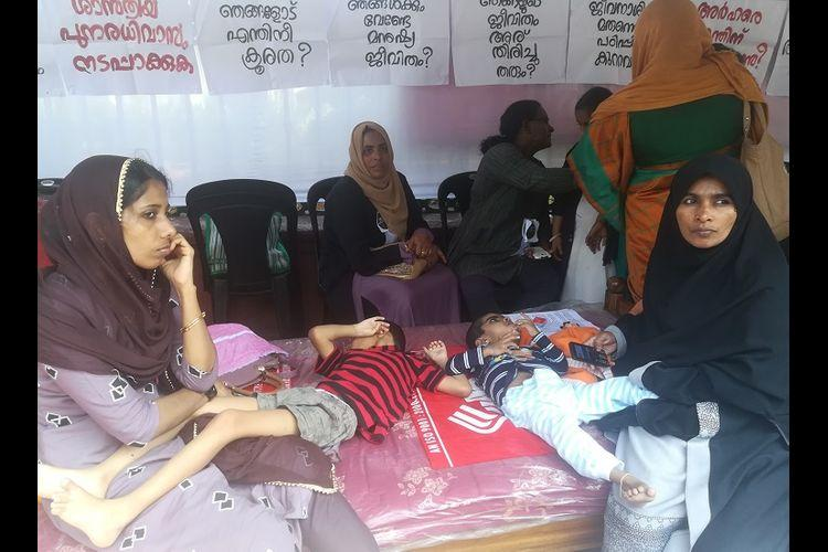 Every Budget Kerala allots funds for endosulfan victims But we get nothing say victims