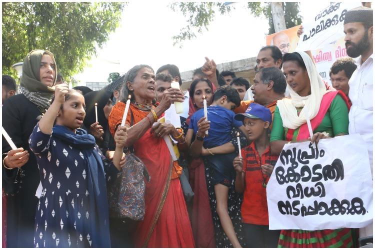 Endosulfan victims protest outside Kerala secretariat demand govt fulfill promises