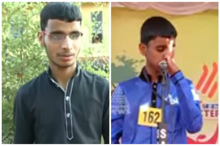 A tale of two brothers Visually impaired Endosulfan victims excel at Kerala Kalolsavam