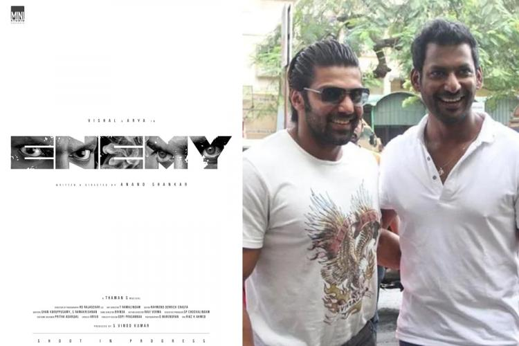 Anand Shankars next with Vishal titled Enemy