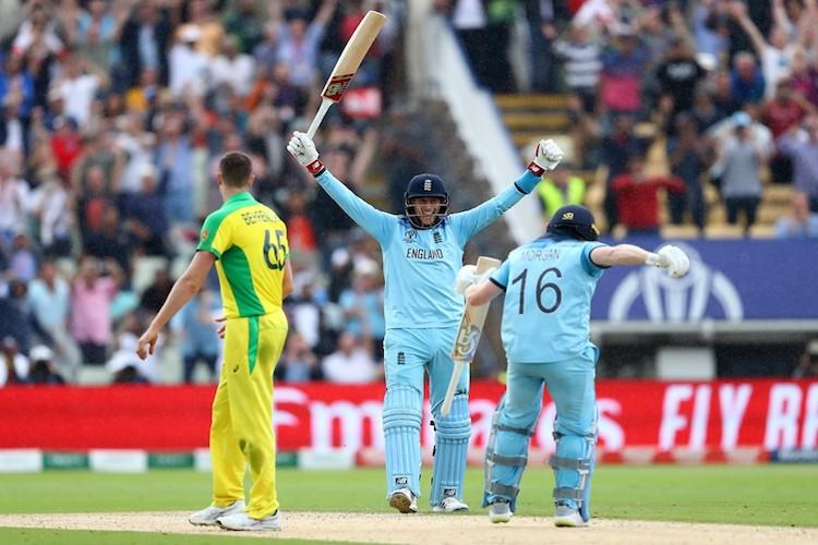 England thrash Australia by 8 wickets to enter first World Cup final since 1992