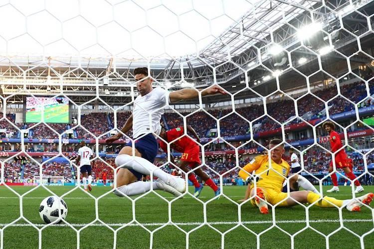 World Cup Belgium beat England to top Group G