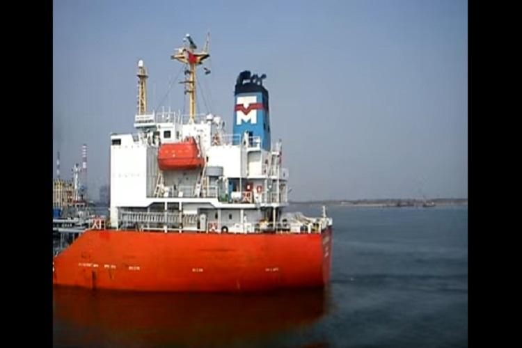 Chennai cargo ships collision A ton of oil may have spilled turtles and fish float dead
