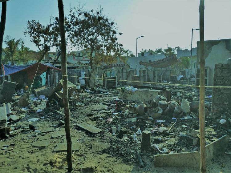 Apathy adds fuel to the fire which raged through Ennore fishing village